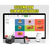Sistema Pdv - Controle De Vendas, Pedidos, Estoque E Mais!!!