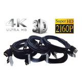 Cable Hdmi 2.0 X 2 Metros Resistente Encauchado