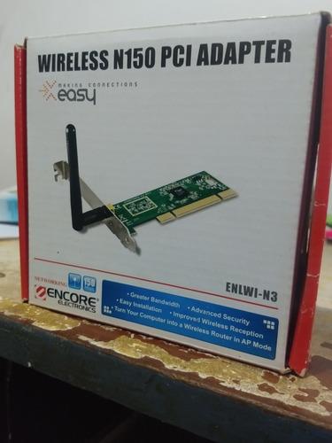Wireless N150 Pci Adapter Encore