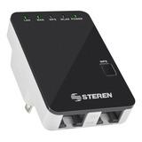 Access Point, Repetidor Steren Com-818 Negro 127v