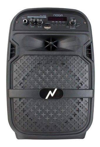 Parlante Inalambrico Bluetooth Portatil Noga 400b Karaoke Fm