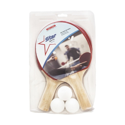 Set De Ping Pong Paletas Y Pelotas Star Sports