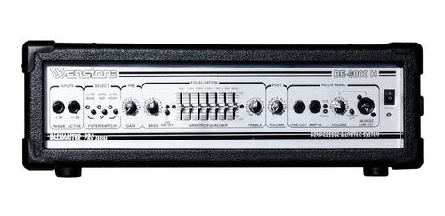 Amplificador Cabezal Bajo 300w Compresor Wenstone Be-3000h