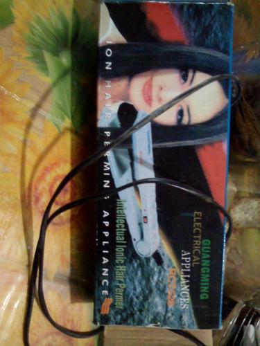 Planchita Para El Pelo Guangming Ionic Hair Permer