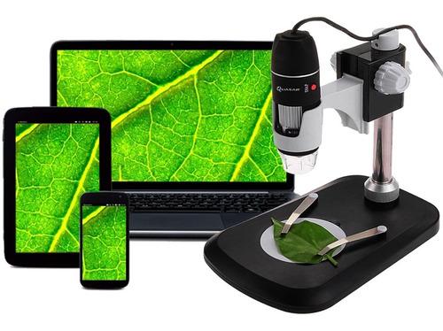 Microscopio Digital Usb Quasar Qm3 Zoom 1000x 2mp