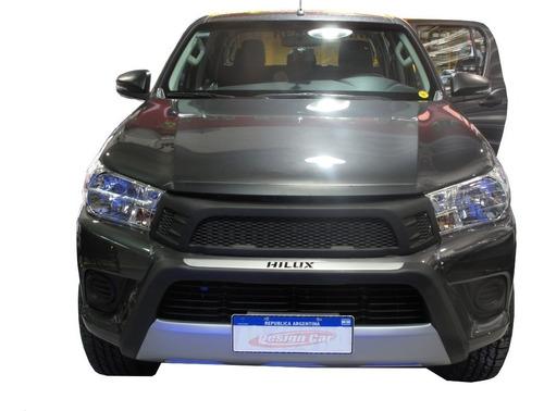 Bumper Plastico Toyota Hilux Linea Nueva 2016 2017 2018