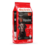 Comida Perro Maxine Adulto 25k + 6 Pate + Snacks