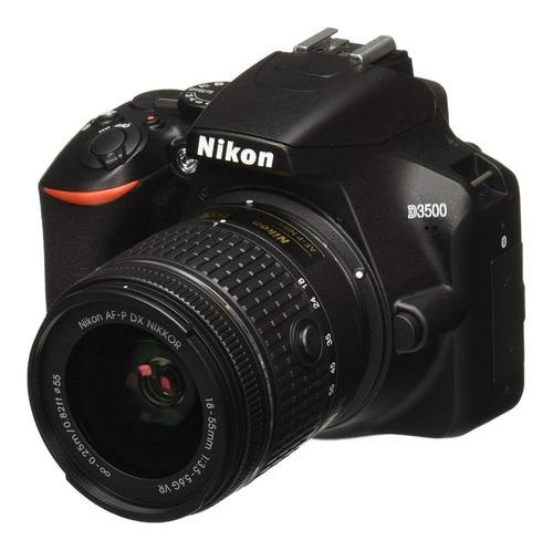 Camara Nikon D3500 24mp Lente Vr 18-55mm