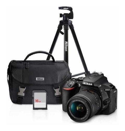 Kit Cámara Nikon D5600/ Lente 18-55mm/ Sd16gb/tripié