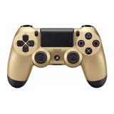 Control Joystick Inalámbrico Sony Playstation Dualshock 4 Gold