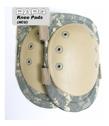 Knee Pad Rodillera Tipo Plato De Paintball Varios Diseños
