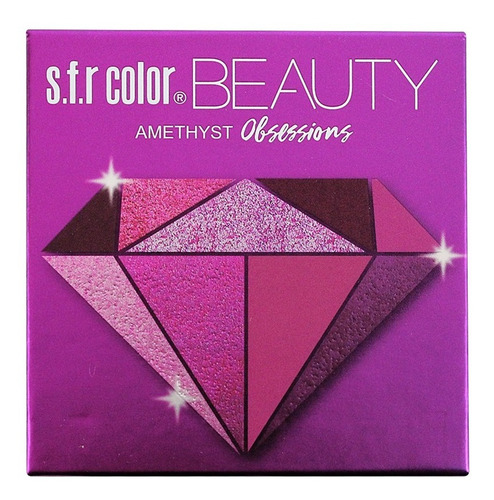 Sombras Maquillaje Color Beauty Obssesions Paleta De 9
