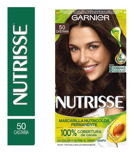 Kit Completo De Coloración Permanente Nutrisse Clásico X45 G