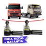 Par Terminal Direção Vw Caminhão Ônibus Top De Linha Original