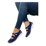 Tenis Zapatillas Mafalda Para Dama. Calzado Para Mujer Lu