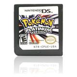Pokemon Platinum - Tarjeta De Juego Para Ds 2/3ds Ndsi Nds N