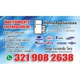 Mantenimiento Y Reparacion De Lavadoras Y Neveras.