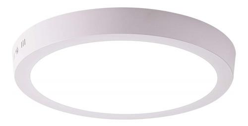 Panel Led 18w Sobreponer Luz Blanca Certificada 6500k 22.5cm