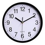 Reloj De Pared Moderno Minimalista Grande Clásico Quartz