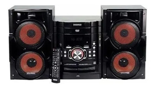 Equipo Música Daewoo Audio Usb Sd Dvd Display Lcd 50w