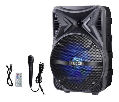 Parlante Tedge Tk-86 Portátil Con Bluetooth