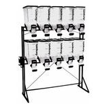 Dispenser Durabox Ração Standard Black 10 X 40