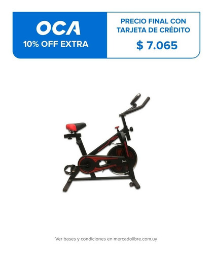 Bicicleta Spinning Max 120 Kg Excelente Calidad Regulable
