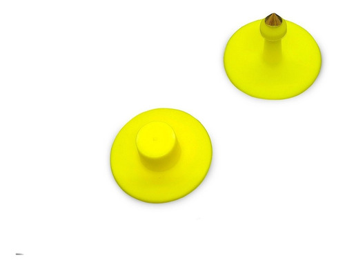 Orejera Tipo Botón Ovinos Paquete X 25 Uds