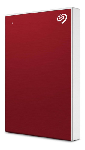 Disco Externo Seagate 2tb Backup Plus Slim Red