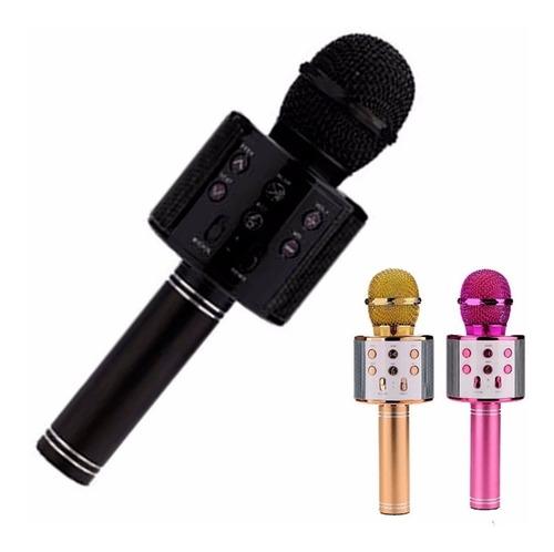 Microfono Karaoke Q7 Bluetooth Inalambrico Parlante Efectos