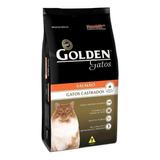 Alimento Golden Premium Especial Castrados Para Gato Adulto Sabor Salmão Em Saco De 3kg