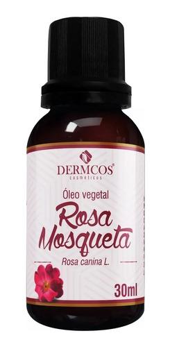 Rosa Mosqueta Óleo Vegetal Clareador De Manchas 30ml Dermcos
