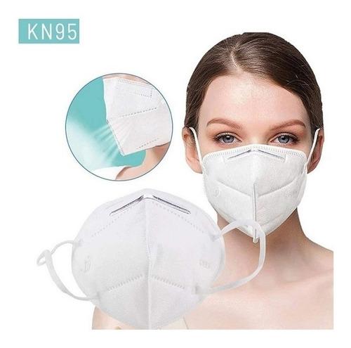 Tapabocas Kn95 N95 X 10 Unidades Barbijo Protector Facial