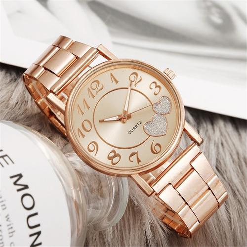 El Último Reloj De Cinturón De Malla De Señoras De Moda Supe