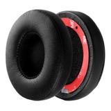 Almohadillas P/ Beats Solo 2 / Solo 3 Wireless Negro