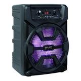Bocina Select Sound Hero Bt1008 Portátil Con Bluetooth Negra