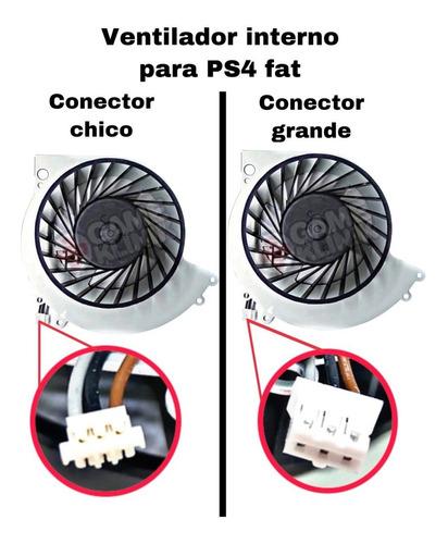 Ventilador Interno Ps4 Fat Cuh-1xxx / Cuh-12xx (a Elegir)
