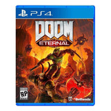 Doom Eternal Standard Edition Bethesda Softworks Ps4  Físico