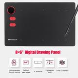G20 8×6  Tableta De Dibujo Gráfico De Panel Digital Profesio