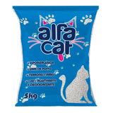 Arena Para Gato Alfa Cat 5pzs De 5kg Total 25 Kg