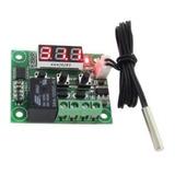 Modulo Termostato Digital Programable Con Display W1209