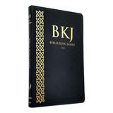Bíblia Slim King James Fiel 1611 Ultra Fina Slim Preta