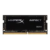 Memoria Ram Impact Gamer Color Negro  8gb 1 Hyperx Hx426s15ib2/8