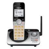 Teléfono Inalámbrico Vtech Cs5229-2 Plateado Y Negro