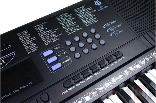 Teclado Musical Estudante Spring Tc261  Tipo Yamaha Promoção