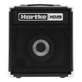 Amplificador Hartke Hd Series Hd25 Para Bajo De 25w Color Negro 220v - 240v