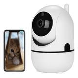 Cámara De Seguridad Wifi Inalámbrica Hd 720p De 360°