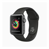 Apple Watch  Series 3 (gps) - Caja De Aluminio Space Gray De 38 Mm - Correa Deportiva Black