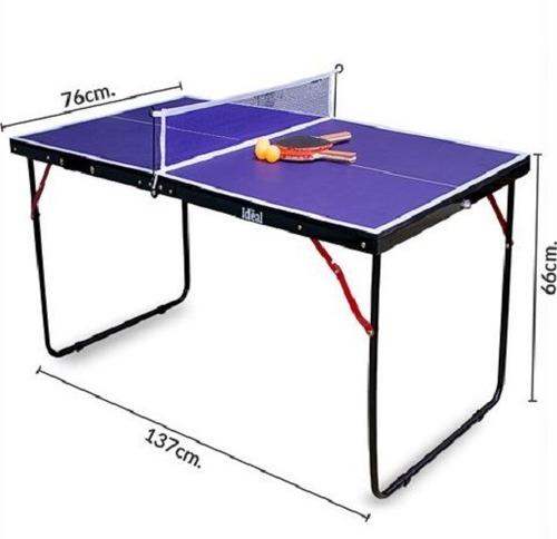 Mini Mesa De Ping Pong Reforzada + Red + Regalos
