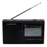 Radio Winco W-2005 Portatil Am Fm Pilas O Cable Analógica Ep
